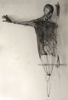 'Memories of the thirst by Italian artist Giorgio Cecchinato Mixed media sculpture, x x in. via Saatchi Human Sculpture, Art Sculpture, Sculptures, 3d Zeichenstift, Art Blanc, Modern Art, Contemporary Art, Figurative Kunst, Art Texture
