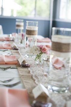 Shabby Chic Wedding Decor Ideas - Decorating Of Party Mod Wedding, Chic Wedding, Dream Wedding, Pewter Wedding, Wedding Happy, Wedding Notes, Eclectic Wedding, Farm Wedding, Trendy Wedding