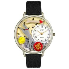 Whimsical Watches Unisex U0130046 Greyhound black Skin Leather Watch Whimsical Watches. $40.99. Greyhound theme dial. Precise, high-quality Japanese-quartz movement. Silver-tone stainless steel case; case diameter: 42 mm. Perfect for gifts and occasions!. Black skin Italian leather strap. Save 32% Off!