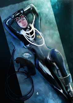Catwoman by ~ellinsworth