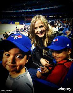 Julie Benz in Toronto