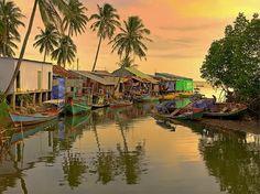 Hai Nihn fishing Village, Phu Quoc Island. Vietnam's beauty through the lens of foreign photographers