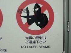 Japan: weird hazard sign