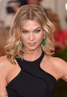 Gorgeous! Karlie Kloss showed fans how to get her make-up look from this year's Met Gala