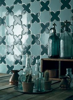 Sure, you're familiar with subway tile and square tile and penny tile and hex tile and maybe even fish scale tile, but there's so much more out there.