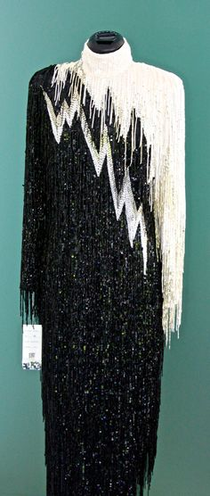 Hey, I found this really awesome Etsy listing at https://www.etsy.com/listing/184091852/unworn-beaded-bob-mackie-gown