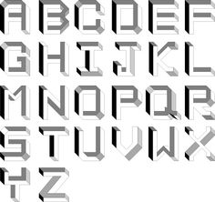 Impossible Alphabet