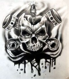 cover design by karlinoboy.deviantart.com on @deviantART #tattoo #skull
