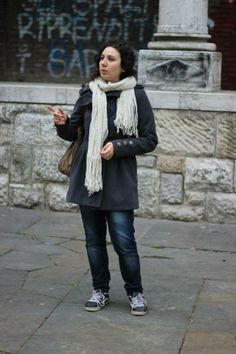 Piazza San Francesco! Matilde valuta le possibilità.