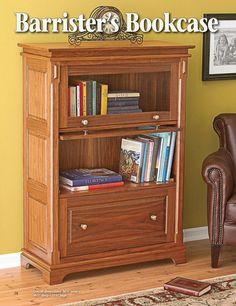 Barrister's Bookcase DIY plan