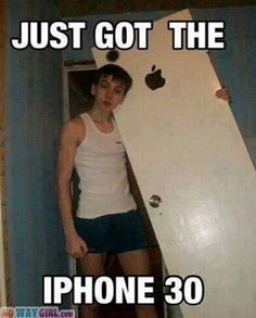 Just Got The iPhone 30!