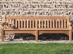 Long enough to fit a family of 4 the Exbury Bench is available in Raw Teak Garden Furniture, Outdoor Furniture, Outdoor Decor, Family Of 4, Teak, Outdoor Living, Bench, Patio, Fit