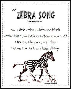 Zebra Song