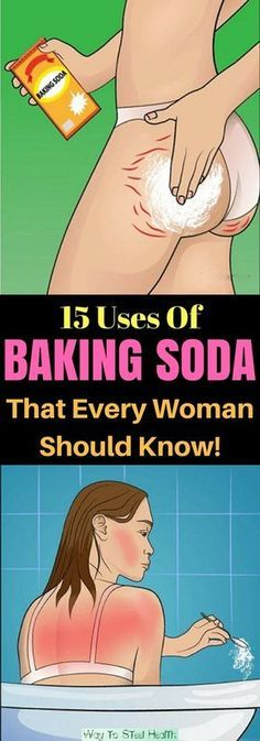 Every Woman Should Know These 15 Tricks With Baking Soda. Posted December 2017 by VG under Home Remedies , Most Popular . Natural Cures, Natural Skin, Natural Health, Health Remedies, Home Remedies, Health And Beauty, Health And Wellness, Health Fitness, Baking Soda Uses
