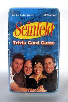 Seinfeld Trivia. . . sort of an oxymoron.