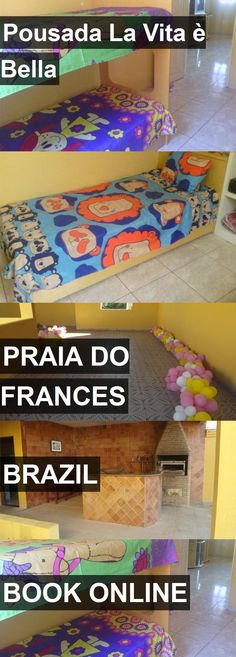 Hotel Pousada La Vita è Bella in Praia do Frances, Brazil. For more information, photos, reviews and best prices please follow the link. #Brazil #PraiadoFrances #travel #vacation #hotel