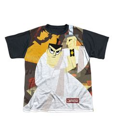 Love this White & Black Samurai Jack Tee - Youth by Trevco on #zulily! #zulilyfinds