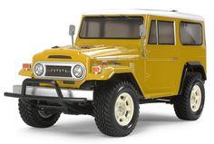 RC Toyota Land Cruiser 40 (cc-01)  by Tamiya.  I need a few of them...