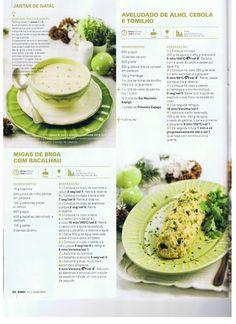 Revista bimby pt-s02-0037 - dezembro 2013 Soup Recipes, Healthy Recipes, Healthy Food, Cantaloupe, Nom Nom, Fruit, Cooking, Barbie, English