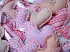 Chaveiro de coração em tecido e feltro R$ 2,00