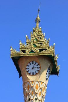Big Clocks, Cool Clocks, Outdoor Clock, Unusual Clocks, Clock Shop, Clock Art, Yangon, Time Clock, Grandfather Clock
