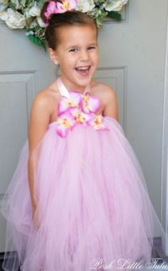 how to make a tutu dress 1- definitely Guna be my niece ;)