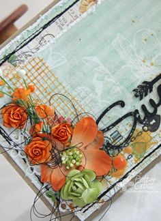 Triple the Scraps: A {Card} by Patter Cross for Blue Fern Studios