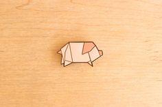 Pig Pin by Hug A Porcupine ©.