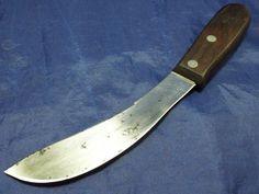 Rare vtg PAL k1156 Skinning butcher Skinner Knife RAZOR SHARP carbon steel #pal