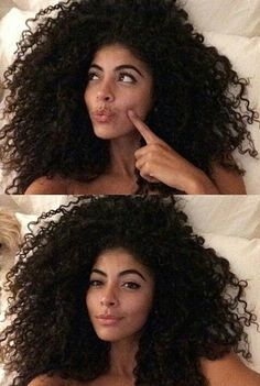 """~ Curls n' freckles!  It's a waste of time to wear curly extensions when you can simply grow out your OWN HAIR.  Being gentle & P=A=T=I=E=N=T, hair grows @ a rate of 1/2"""" a month [that equals 6"""" of new growth a year]. Like working out, you don't become fit with a svelte body overnight.  That said, it takes about 4-5 years but is worth it.  It's worth the journey b/c my goal was & still is healthy hair.  Once all damage was eliminated, as my curls became healthier, the length came afterwards…"""