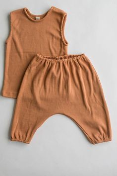 the everyday rib pant - terracotta