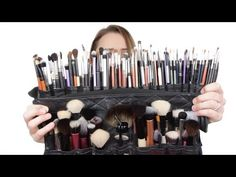 Everything you need to know about Makeup Brushes! In this video I unpack my entire Makeup brush kit for you guys, and we chat about all of them in detail. Brush Kit, Makeup Videos, Video Tutorials, Makeup Brushes, Bobby Pins, Hair Accessories, Beauty, Beleza, Cosmetology