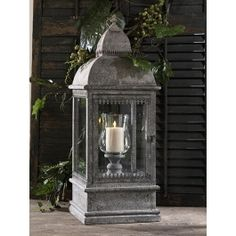 """34.5"""" Iron Lantern. To light the path to our chapel. These will be gorgeous"""