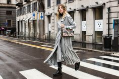 Photographer Sandra Semburg captures the best looks on the street for us, at Milan Fashion Week Fall/Winter 2016-2017.