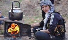 SYRIA and IRAQ NEWS: #Rojava Update 188 - Islamic State Attempt to Recapture Strategic Town, While Mystery Plane drops Cluster Bombs on YPG Near Hasakah City. *For More #Iraq and #Syria News ...* http://www.petercliffordonline.com/syria-and-iraq-news PIC: Kurdish YPJ Fighter Brews Tea Near the Frontline: