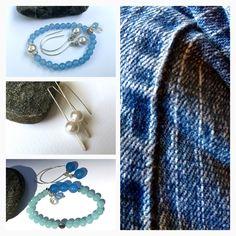 Fresh blues & whites - perfect with jeans...and beyond. https://www.etsy.com/shop/JoyfulByNature?section_id=18784588&ref=shopsection_leftnav_1 #etsymntt #jewelry #jewelryonetsy