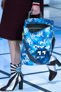 The #AnyaHindmarch #FW16 collection was filled with whimsy #SaksAtTheShows
