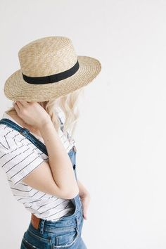 MUST HAVE OF THE WEEK: BOATER HAT
