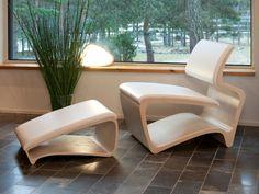 KOURA Footstool by Havuu design Jukka Lommi