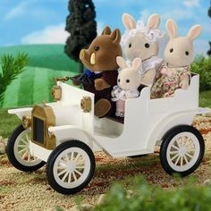 Sylvanian Families Vintage Wedding Car