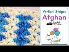 Crochet Vertical Stripes Blanket + Tutorial - The Crochet Crowd®