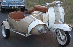 Siambretta TV 175 con sidecar. http://www.arcar.org/moto-siambretta-tv-175-66560