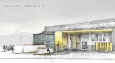 Image result for plaza front entrance architecture
