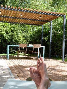 détente terrasse été