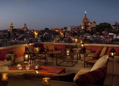 Rosewood, San Miguel de Allende. Mexico. One of the many neat hotels in San Miguel.