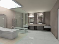 Baño Marvel - Amazonia.  Interceramic. Render Andy Surizadai