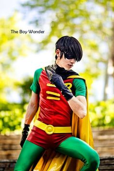 Robin (Some random cosplay kid - because I don't like any of the live action versions of the character)