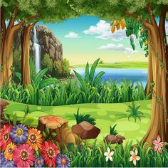 Customization backgrounds 3D wallpaper for walls 3d wallpaper murals photo silk for living room Cartoon children room decorat