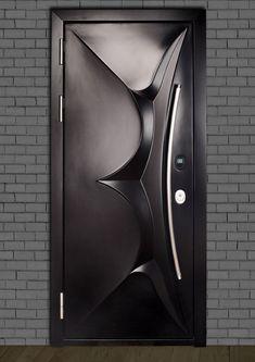 Modern Entrance Door, Modern Wooden Doors, Modern Front Door, Entrance Doors, Wooden Front Door Design, Wood Front Doors, Main Door Design, Steel Gate Design, House Gate Design