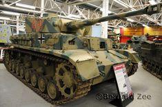 Bovington Tank Museum - (German WWII, Panzer IV Tank)